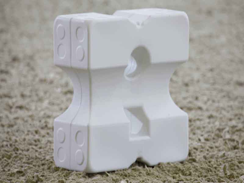 Longieren & Trainingshilfen Cavaletti Block aus Kunststoff 1 Stück