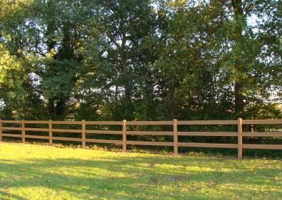 Artwood fence